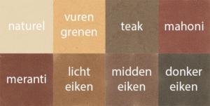kneedbaar-hout-kleuren